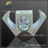 Rectángulo de empaquetado de la impresión del imán del encierro de la alta calidad de la fragancia rígida agradable de la cartulina
