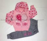Весна/осень ягнятся костюм спорта Gril в одеждах малышей