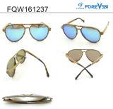 Gli occhiali da sole di legno di alta qualità Fqw161237 hanno polarizzato l'obiettivo MOQ basso
