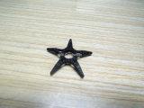 Pieza de la decoración de la fibra del carbón, pieza de fibra moldeada del carbón
