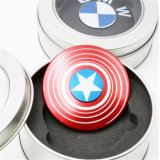 Metal Captain America Fidget Spinner