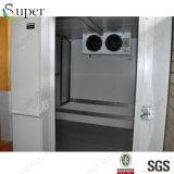 찬 룸 저장에 있는 냉장고 Evaporat 소형 도보