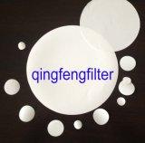 Filtre à membrane à disque PVDF microporeux hydrophobe / hydrophobe