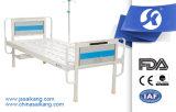 Perforiertes Stahlstandardkrankenhaus-flaches Bett