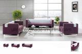De cuero Mueble de casa reclinable seccional cantante Salón Sofá (UL-NSC109)