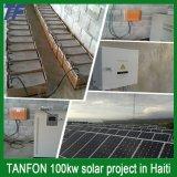sistema da montagem da HOME do painel da energia da potência 10kw