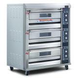 Luxuxkommerzieller elektrischer Ofen der qualitäts-3-Deck 6-Tray für Verkauf