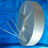 Pmg260 100W 28VDC 130rの縦の軸線の風力ディスクCoreless低いRpm Pmgの三相永久マグネット発電機