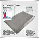 Estera antirresbaladiza antifatiga vendedora caliente del suelo del poliuretano de la cocina