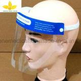 Visera llena antiniebla disponible, blindaje médico de la protección de la cara