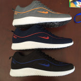 Popular Coloridos Homens e Mulheres Running Sports Casual Shoes Sneaker & Athletic Shoes