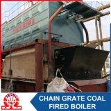 Scaldacqua infornato carbone orizzontale industriale del Doppio-Timpano dello SZL 10.5-1.25MPa