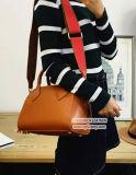 Sacchetto di vendita caldo di Shoulde del Tote della borsa del cuoio genuino delle 2017 donne con la cinghia larga Emg5020