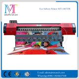 Duplo DX7 Printerheads 1.8m largo Large Format piezoelétrico Eco impressora solvente