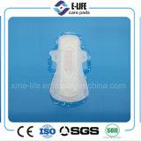 Usine indienne de serviette hygiénique de l'utilisation 240mm de jour d'absorption élevée avec le prix bon marché
