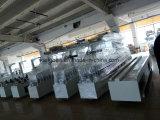 PVC plastificado de papel de estiramiento de recubrimiento de película TUV certificado Woodworking Wrapping Machine