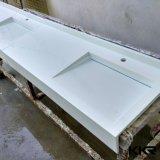 浴室(B1702272)のための旧式な固体表面の石造りの洗面器の流し