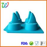 Прессформа силикона подноса создателя кубика льда ребра акулы шоколада студня партии