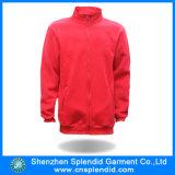 Großhandelsim freienkleidungs-rote Sport-Vlies Hoody Umhüllung für Männer