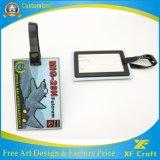 De fabrikant paste 3D Markering van de Bagage van pvc van het Embleem van het Ontwerp Zachte voor Militair (xf-LT02) aan