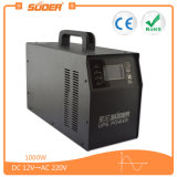 Suoer High Frequency UPS Inverter Charger 12V 1000W Pure Sine Wave Power Inverter avec contrôleur intégré (HPA-1000CT)