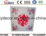 천장을%s 595 600 603mm 중국 Manufcturer PVC 위원회는 훈장을 타일을 붙인다