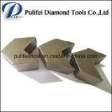 Het Malen van de Vloer van Concerete het Malen van de Diamant van Hulpmiddelen Segment voor de Molen van de Hoek