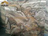 Mattonelle di pavimentazione di marmo del marmo della lastra del Marte Brown