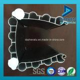 6063 Extrusión de Aluminio Perfil de rodillo ventana Cortina metálica