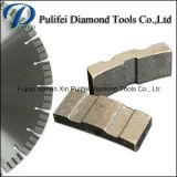 Il ponticello ha veduto il segmento del diamante della testa del disco della circonvallazione della parte 800mm di taglio