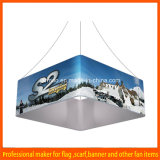 Custom Indoor Trade Show Advertizing Circular Tension Ceiling Hanging Banner