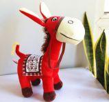 El mejor juguete hecho de la felpa del burro del animal relleno