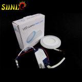 fornecedores pequenos da luz de painel do diodo emissor de luz do teto 3+2W quadrado
