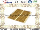 가정 훈장, Cielo Raso De PVC를 위한 나무로 되는 PVC 천장판 벽면