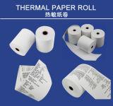 Qualité roulis thermique de papier de réception de position de caisse comptable de 80mm x de 70mm