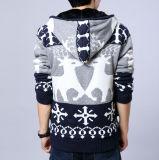 De goedkope Sweater van de Mensen van het Patroon van de Herten van de Vacht van de Herfst Warme