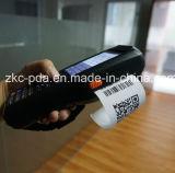 Inalámbrico portátil Android TPV con la impresora y lector de tarjetas RFID para el sistema de ticket de aparcamiento