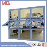 Form-Aluminium hing Fenster-Flügelfenster-Fenster