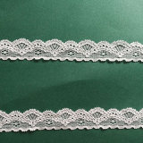 Эластичное узкое тканье способа ткани шнурка утески