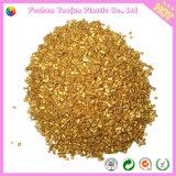 Masterbatch dourado para a matéria- prima plástica