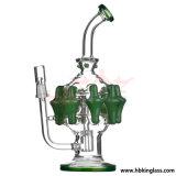 wasser-Rohr des Recycler-12inch Glasbunte Hbking Pfeife
