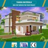 Construcción de viviendas de la estructura de acero con los paneles de Alc