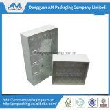 El chocolate modificado para requisitos particulares del envase de papel encajona el rectángulo de lujo con la ventana clara
