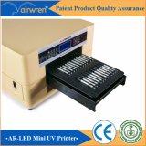 Dx5印字ヘッドが付いている熱い販売法8カラー紫外線印字機A3のサイズの紫外線平面プリンター