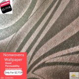 Pvc Wallpaper Beautiful Design in Stock voor Sale