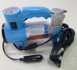 Портативный компрессор воздуха автомобиля металла с светами