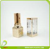 Envases de encargo vacíos del lápiz labial del lustre del labio del tubo de lujo de aluminio