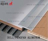 Profilo di alluminio accessorio di transizione della pavimentazione della moquette