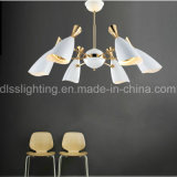 Ferro da lâmpada do pendente do projeto moderno & candelabro do alumínio para a sala de estar Decorotion