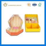 Rectángulos de empaquetado del juguete lindo de forma irregular de la cartulina (con la impresión)